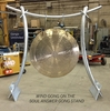 "52"" Wind Gong on Soul Answer Gong Stand - CUSTOM ORDERED"