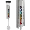 "17"" Woodstock Chakra Chimes - Seven Stones (CC7) - FREE SHIPPING"