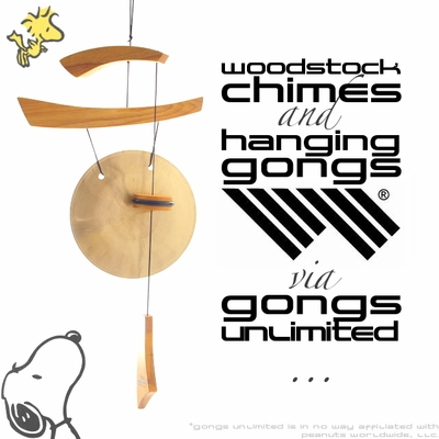 Woodstock Chimes and Hanging Gongs