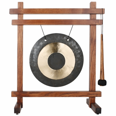 Woodstock Table Gong   (Teak Finish)