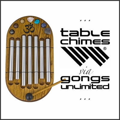 CLICK HERE for Woodstock Table & Zenergy Chimes