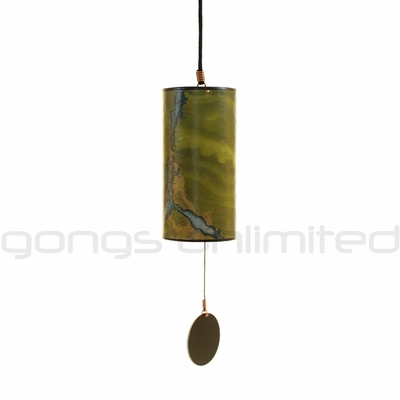Zaphir Crystalide Wind Chime (color 9) - Green - FREE SHIPPING