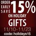 15% Off Pre Holidays Promo + BBVIP promo 100 points at sign up