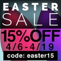 15 % Off Store-Wide Easter Sale