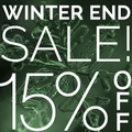 15 % Off Store-Wide Winter End Sale
