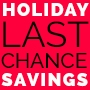 20% off site-wide on Holiday Final Promo
