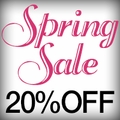 20% Off Store-Wide Spring Sale