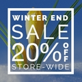20% Off Store-Wide Winter End Sale