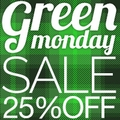 25% off sitewide Green Monday Sale