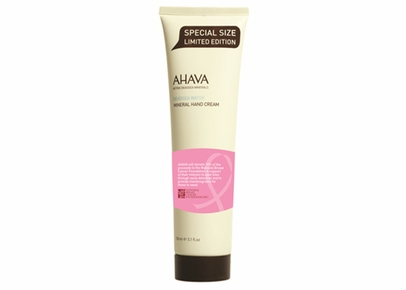 AHAVA - Deadsea Water Mineral Hand Cream 50% More Breast Cancer Awareness Edition