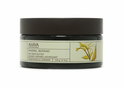 AHAVA - Mineral Botanic Rich Body Butter Honeysuckle & Lavender