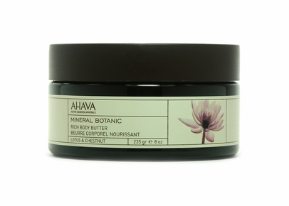 AHAVA - Mineral Botanic Rich Body Butter Lotus & Chestnut