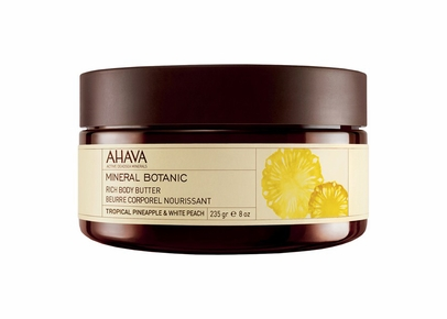 AHAVA - Mineral Botanic Rich Body Butter Tropical Pineapple & White Peach