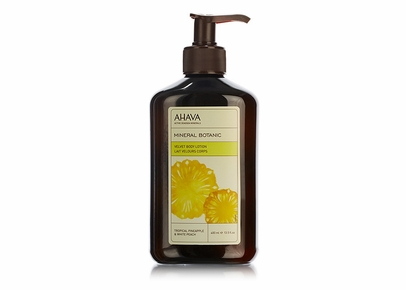 AHAVA - Mineral Botanic Velvet Body Lotion Tropical Pineapple & White Peach
