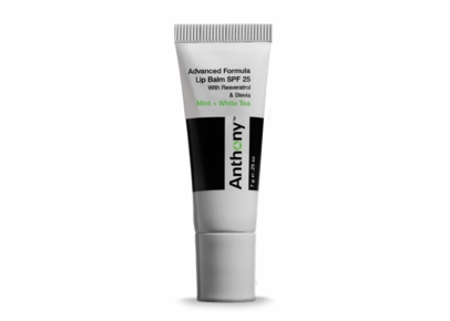 Anthony Logistics - Advanced Formula Lip Balm SPF 25 With Resveratrol (Mint and White Tea)