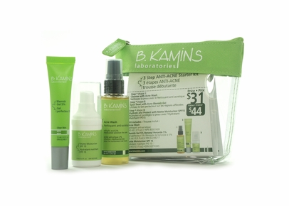 B. Kamins Chemist - Anti-Acne Starter Kit