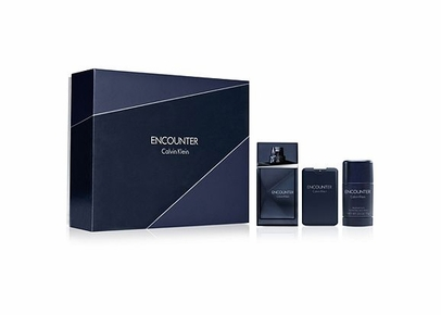 Calvin Klein - Encounter For Men Gift Set (EDT+AS+Travel EDT)