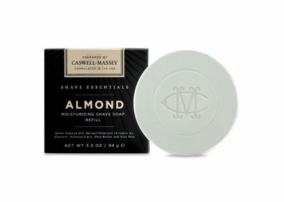 Caswell-Massey - Almond Moisturizing Shave Soap Refill