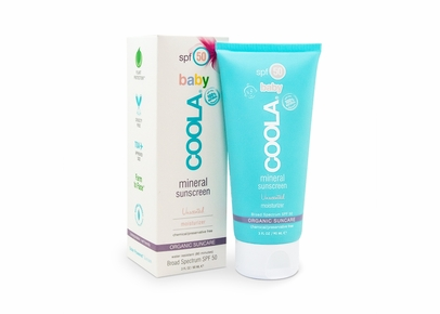 COOLA - Baby SPF 50 Mineral Sunscreen Unscented Moisturizer