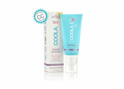 COOLA - Face SPF 20 Mineral Sunscreen Rose Essence Tint