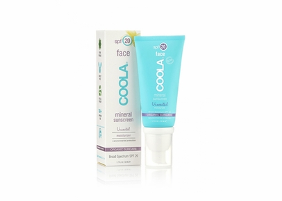 COOLA - Face SPF 20 Mineral Sunscreen Unscented Moisturizer