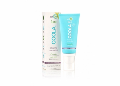 COOLA - Face SPF 30 Mineral Sunscreen Cucumber Matte Finish