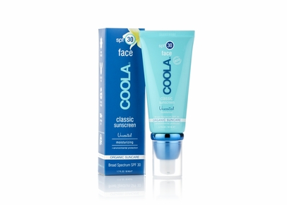 COOLA - SPF 30 Face Classic Moisturizing Sunscreen Unscented