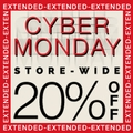 Cyber Monday Sale - 20% off storewide plus BB Bag with $100 order