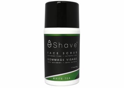 eShave - White Tea Face Scrub