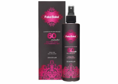 Fake Bake - 60 Minutes Self-Tan Liquid & Professional Mitt