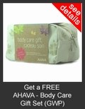 FREE AHAVA Body Care Gift Set with Purchase of AHAVA
