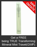 FREE being TRUE Transforming Mineral Mist Travel Size with Purchase of being TRUE