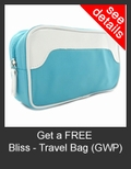 FREE Bliss Travel Bag with Purchase of Bliss