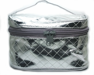 FREE Dermablend Silver Makeup Tote with Purchase of Dermablend