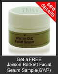 FREE Janson Beckett Vitamin C&C Facial Serum Deluxe Sample with Purchase of Janson Beckett