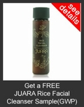 FREE JUARA Rice Facial Cleanser Deluxe Sample with Purchase of JUARA