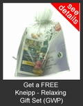 FREE Kneipp Relaxing Gift Set with Purchase of Kneipp
