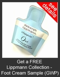 FREE Lippmann Collection Steppin' Out Nourishing Foot Cream Deluxe Sample with Purchase of Lippmann Collection