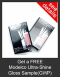 FREE ModelCo Ultra-Shine Gloss Deluxe Sample with Purchase of ModelCo