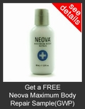 FREE Neova Maximum Body Repair Deluxe Sample with Purchase of Neova