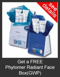 FREE Phytomer Radiant Face Box with Purchase of Phytomer