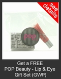 FREE POP Beauty Lip & Eye Gift Set with Purchase of POP Beauty
