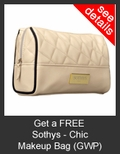 FREE Sothys Chic Makeup Bag with Purchase of Sothys