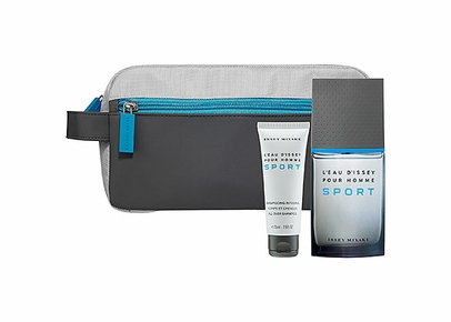 ISSEY MIYAKE - L'Eau d'Issey Pour Homme Sport Gift Set (EDT+SG+Toiletry Bag)