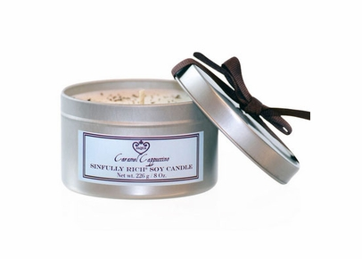 JAQUA - Caramel Cappuccino Sinfully Rich Soy Candle