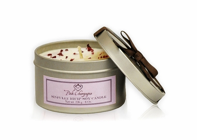 JAQUA - Pink Champagne Sinfully Rich Soy Candle