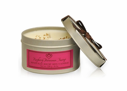JAQUA - Raspberry Buttercream Frosting Sinfully Rich Soy Candle