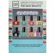 Jenna Hipp - The New Brights 8 Mini Nail Polish Collection
