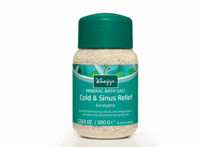 Kneipp - Cold & Sinus Relief Eucalyptus Mineral Bath Salt (17.63 oz.)