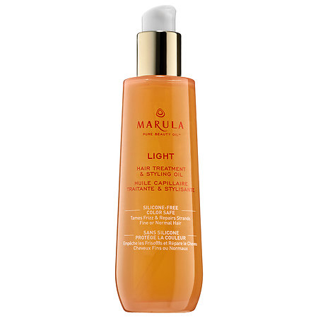 Marula Pure Beauty Oil - Light Hair Treatment and Styling Oil